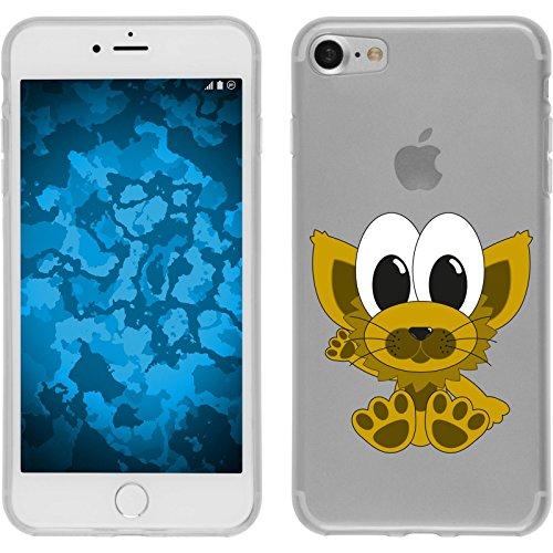 PhoneNatic Case für Apple iPhone 8 Silikon-Hülle Cutiemals M3 Case iPhone 8 Tasche + 2 Schutzfolien Design:07