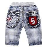 Die besten 4 Jahre alten Jungen Geschenke Verkäufer - YAANCUN Jungen Bermudas Jeans Boys Tasche Short Hose Bewertungen