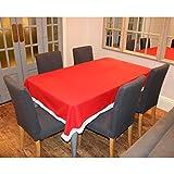 rot & weiß Weihnachtsmann Weihnachts-Tischdecke Dekoration