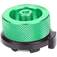 Dilwe Adaptador de Quemador de Estufa de Botella de Gas Conversión Ligera de Quemador Acampa para