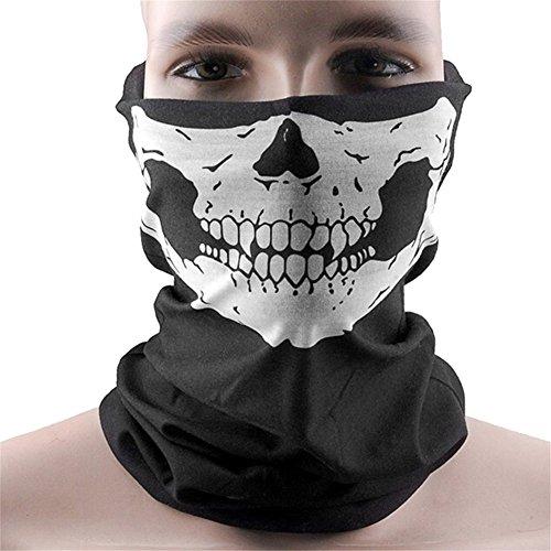 sito web per lo sconto comprare popolare adatto a uomini/donne WHATWEARS - Passamontagna con maschera da teschio fantasma dal gioco Call  of Duty