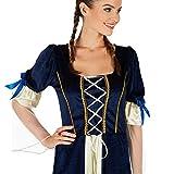 TecTake dressforfun Frauenkostüm Königstochter | Besteht aus wundervollem Satin und Pannesamt | Traumhaftes Königstochter-Kleid (L) Test