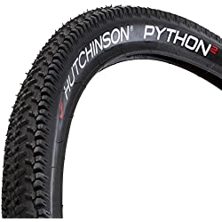 Hutchinson 697912 - Cubierta de ciclismo, color negro, 26 x 2.00 Plegable Iguana