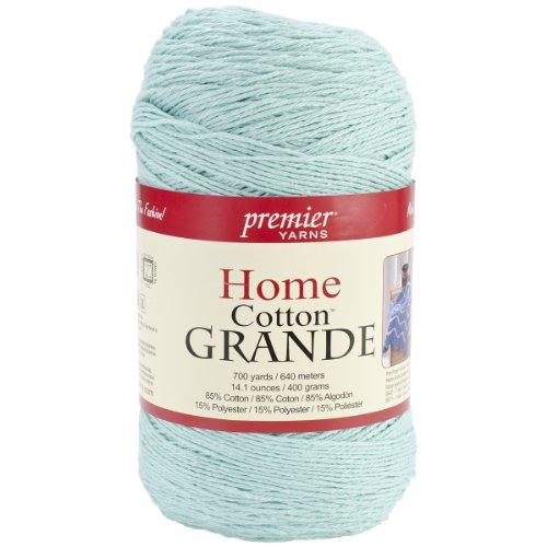 Premier Yarns Blend Home Baumwolle Grande Yarn-solid-Pastel blau (Premier Yarn-home-baumwolle Grande)