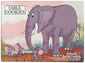 Fable Cookies Elephant & Mice Butter Cookies - 100 gms