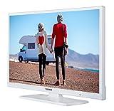 Telefunken XH24D101VD-W 61 cm (24 Zoll) Fernseher (HD Ready, Triple Tuner, DVD-Player, 12 V) Vergleich