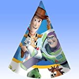 Toy Story 3 Theme Party Cone Hat - Pack of 6