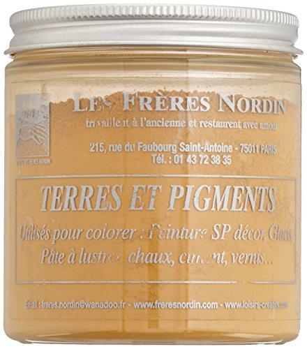 Les Frères Nordin 418111 Terre Pigment Ocre Jaune,