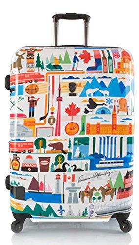 ... 50% SALE ... PREMIUM DESIGNER Hartschalen Koffer - Heys Künstler Fernando Kanada - Trolley mit 4 Rollen Gross Kanada