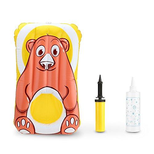 Decdeal Aufblasbare Baby Wickelauflage mit einer Nut für Hintern Waschen Inkl. Sprühflasche und Pumpe Rohr -
