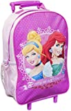 DISNEY PRINCESS GIRLS HOLIDAY CABIN WHEELED BAG TROLLEY SUITCASE LUGGAGE - PINK