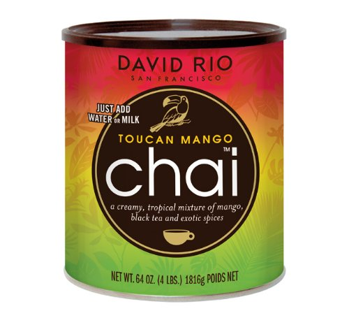 David Rio - Toucan Mango Chai, Pappwickeldose (1 x 1.814 kg) - Francisco Honig San