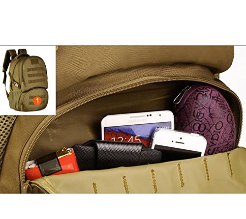 Protector Plus Bergspitze 35 Liter Wandern Rucksack Outdoor Camping, leichte wasserdichte Tasche B