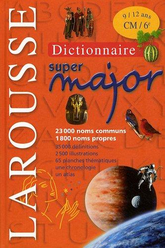 Dictionnaire super major