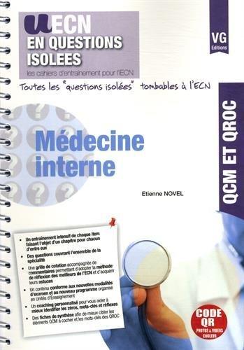 Médecine interne de Etienne Novel (13 novembre 2014) Broché