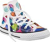 Converse - Zapatillas de Lona para niña, color multicolor, talla 32 EU