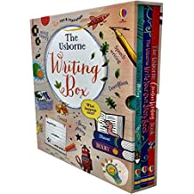 The Usborne Writing Box 3 Books Collection Set (Creative Writing Book, Write Your Own Story Book, Writing Journal)