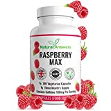 Raspberry Max 180 Vegetarian Capsules 3 Month Supply UK Manufactured by Natural Answers Ingredients Include: Green Tea Extract, Caffeine Anhydrous, Apple Cider Vinegar, Raspberry Extract