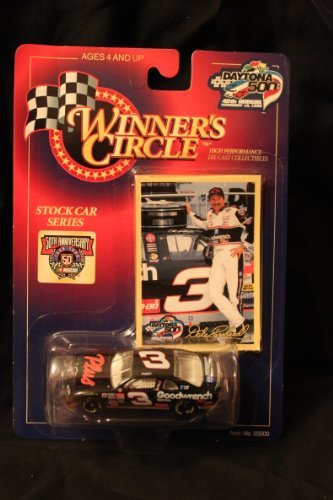 Winner's Circle Dale Earnhardt 1/64 #3 Daytona 500 40th Annual diecast and collector's trading ()