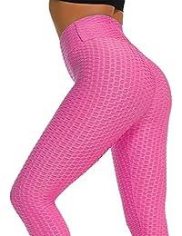 Acutty Frauen Leggings Damen Tights Anti Cellulite Kompressionsgamaschen  Slim Fit Butt Lift Elastic Sports Pants 5bcf998d67