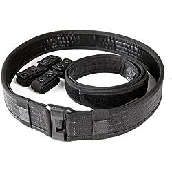 5.11 Tactical Sierra Bravo Cinturón para Hombre, Color Negro, tamaño XL