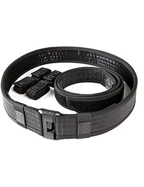 5.11 Tactical Sierra Bravo Cinturón para Hombre, Color Negro, Tamaño Medium
