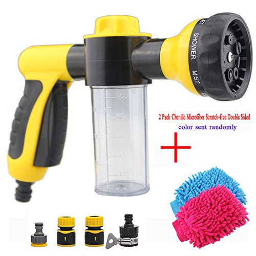 car-wash-high-pressure-spray-nozzle-water-shape-sprayer-8-in-1-spray-settings-with-foam-clean-functi