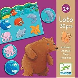 Djeco Giochi d' Azione e reflejosjuegos di mesadjecoeducativos Loto Animali, (15)