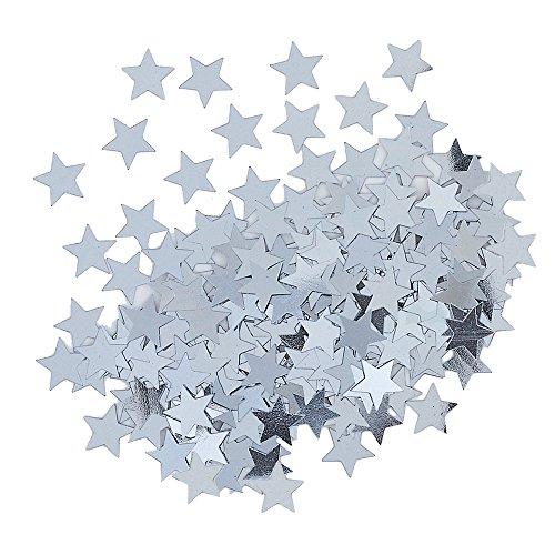 Unique party - confetti argentati a forma di stella