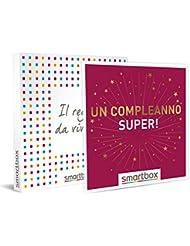 smartbox Un Compleanno Super, Cofanetto Regalo Donna, Uomo, Multiattività, Standard
