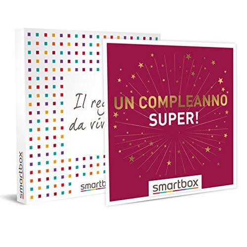 Smartbox - un compleanno super! - soggiorni in agriturismi, hotel 3* e 4*, cofanetto regalo, multiattività