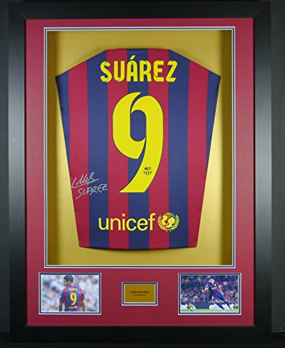 Luis-Suarez-Barcelona-Signed-Shirt-3D-Framed-Display-with-COA