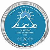 Suntribe (100ml = 43.30EUR) Face Zinc Sunscreen Sonnencreme SPF 30/30ml