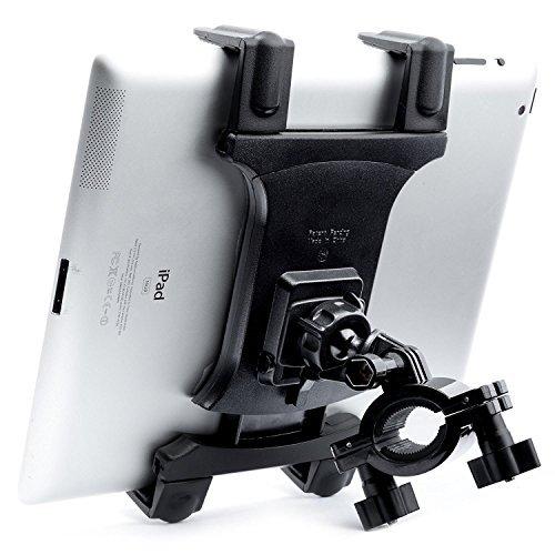 Tablet Halterung für Spin Bike-[Dual Lock] tackform Universal Wiege für Stationäre Fahrrad, Laufband, elliptisch, Spinning, Bewegung-Halterung für iPad, Mini, 2, 3, Air, Pro