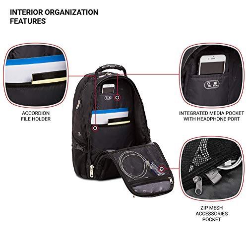 Backpack -Scansmart /Black - 19002215 Image 5