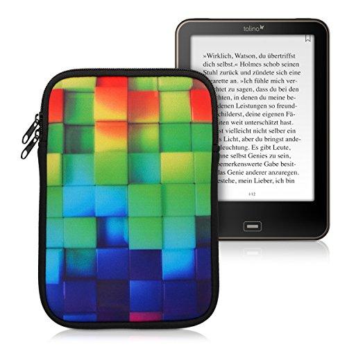 kwmobile Funda Sleeve de Neopreno para Tablet para Tablet / eReader (M...