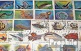 Motive-50-verschiedene-Fische-Marken-Briefmarken-fr-Sammler