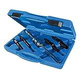 Silverline 297941Extracteur de roulements internes, Argent, 12–32mm, Set de 5pièces
