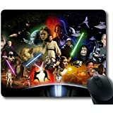 Gaming Mouse Pad, Hot Star Wars Roles Personalized MousePads Natural Eco Rubber Durable Design Computer Desk Stationery Accessories Gifts For Mouse Pads