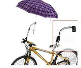 Schirmhalter für Fahrrad, Kinderwagen, Rollator, Rollstuhl, Golftrolleys, Steckerhalter, Halterung -II