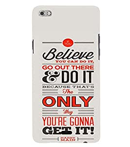 printtech Get It Back Case Cover for Micromax Canvas Sliver 5 Q450::Micromax Canvas Silver 5
