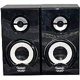 Quantum QHM636 USB Powered Wooden Speaker (Black)