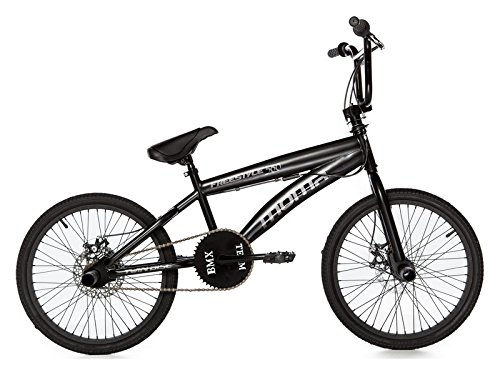 Moma - Bicicleta Freestyle 360 Full Disc, negro