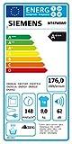 Siemens WT47W5W0 iQ700 Wärmepumpentrockner/A+++ / 8 kg/Großes Display mit Endezeitvorwahl/weiß