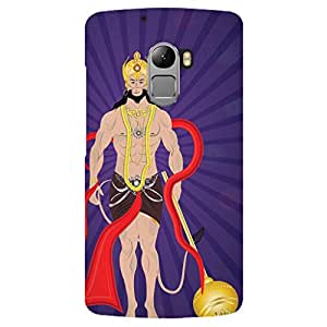 URBAN KOLOURS Original Designer Printed Hard Case Back Cover for Lenovo K4 Note (Jai Hanuman)