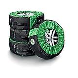 Skoda 000073900B Reifentasche für Kompletträder bis 18 Zoll Schutztasche Reifen Räder Felgen