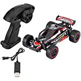 Dilwe 2.4GHz Remote Control Four Wheel Drive Car Crawler 1:20 RC Model Toy(Red)