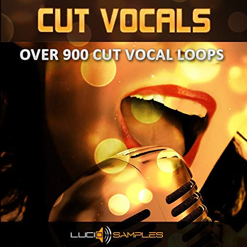 Cut-Vocals Party - Dj Vocal Loops for Techno & Dance | WAV Files | DVD non Box Sonar Dvd