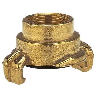GARDENA Messing-Schnellkupplungs-Gewindestück mit Innengewinde: Schlauchanschluss mit 33.3 mm (G 1