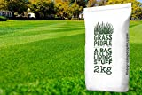 Superstar Back Lawn Grass Seed 2KG from The Grass People - Perfect for families, Children, Pets and Anyone Who Wants a Premium Quality, Hard Wearing, Attractive Lawn (2kg)